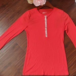 Gap Women's Top Sweater with buttons.